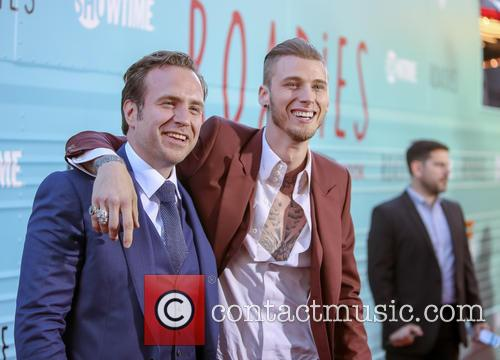 Rafe Spall and Machine Gun Kelly 2