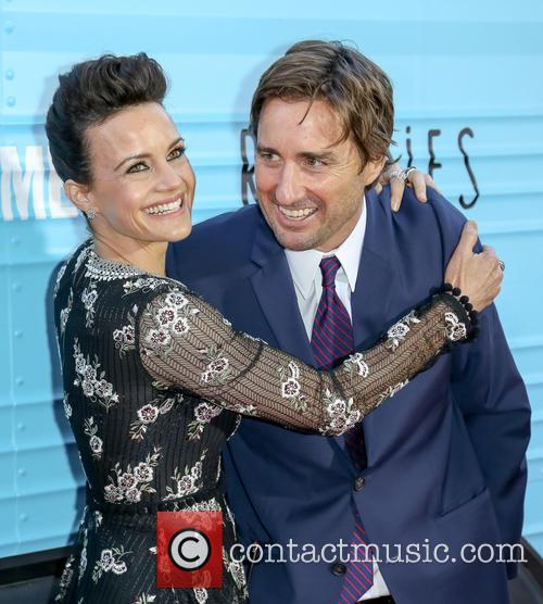 Carla Gugino and Luke Wilson 7