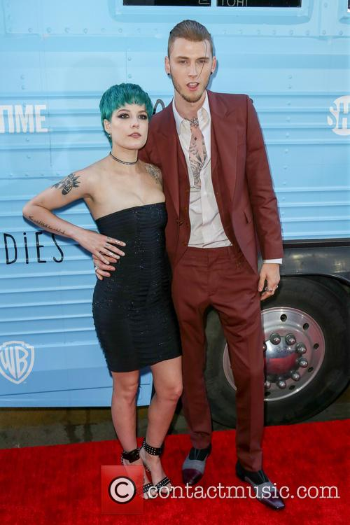 Halsey and Machine Gun Kelly 7