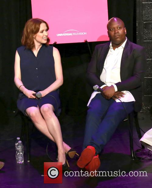 Ellie Kemper and Tituss Burgess 2