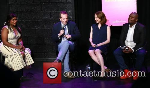 Mindy Kaling, Robert Carlock, Ellie Kemper and Tituss Burgess 2