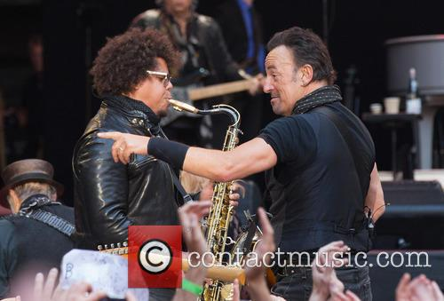 Jake Clemons and Bruce Springsteen 1