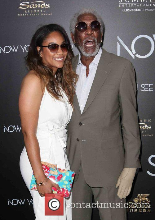 Alexis Freeman and Morgan Freeman 1