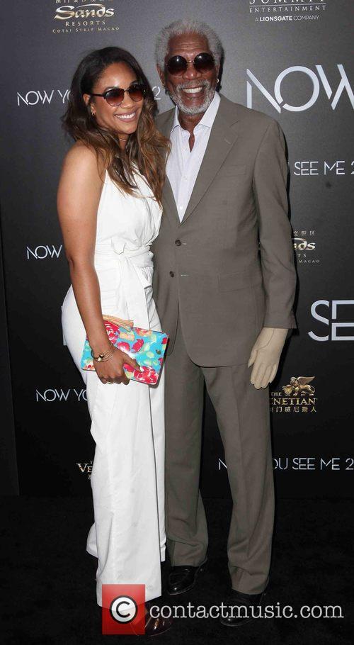 Alexis Freeman and Morgan Freeman 2