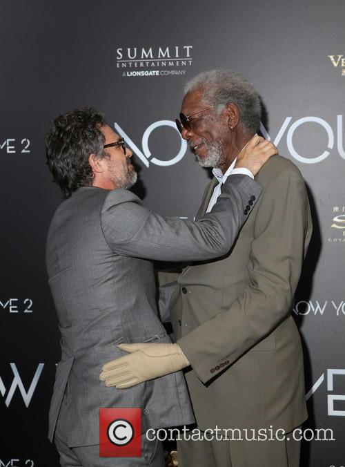 Mark Ruffalo and Morgan Freeman 6