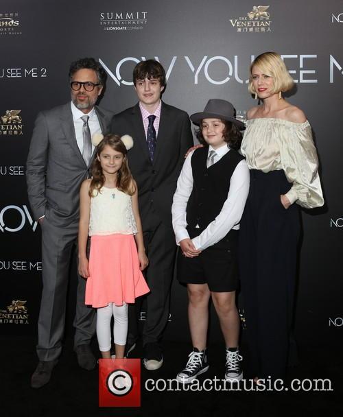Mark Ruffalo and Family 7