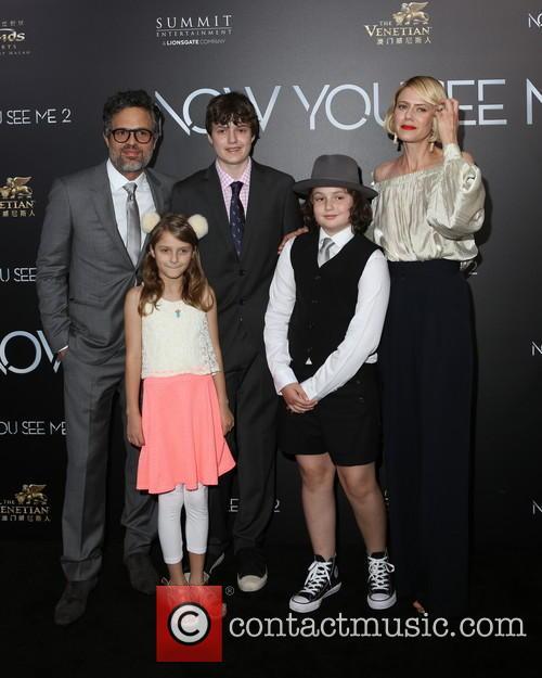 Mark Ruffalo and Family 8