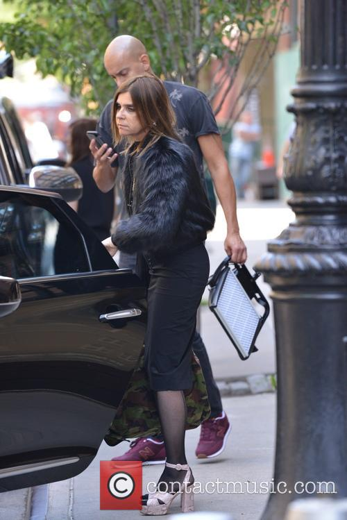 Carine Roitfeld out and about in New York