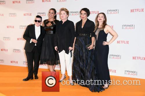 Lea Delaria, Dascha Polanco, Kate Mulgrew, Selenis Leyva and Yael Stone 1