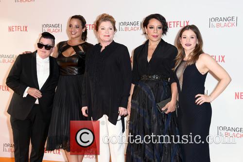 Lea Delaria, Dascha Polanco, Kate Mulgrew, Selenis Leyva and Yael Stone 2