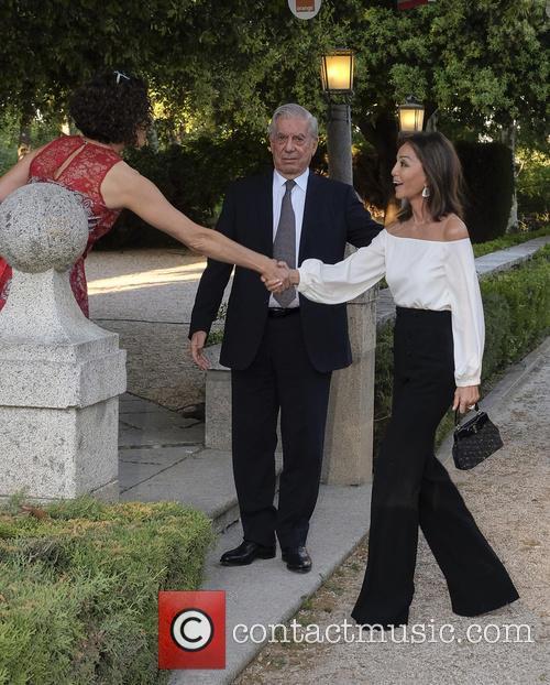 Mario Vargas Llosa and Isabel Preysler 2