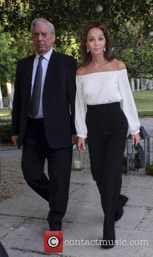Mario Vargas Llosa and Isabel Preysler 3