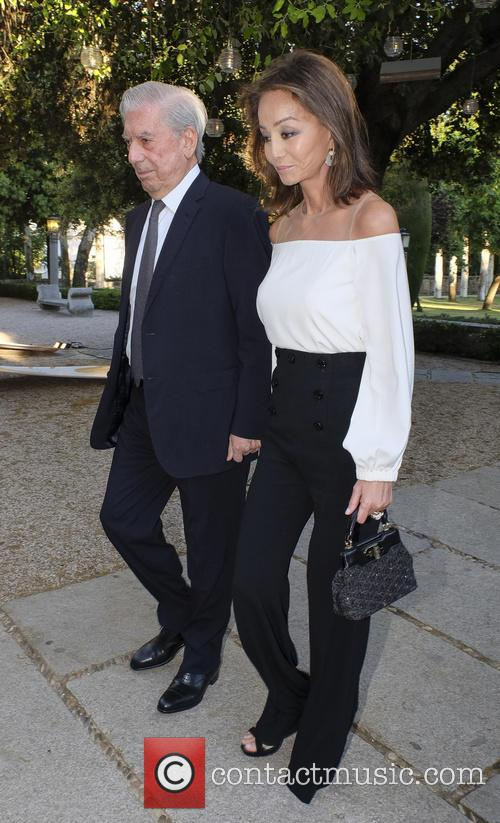 Mario Vargas Llosa and Isabel Preysler 4