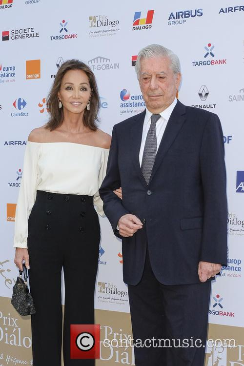 Mario Vargas Llosa and Isabel Preysler 6