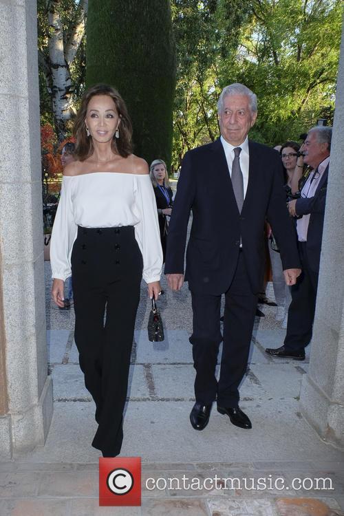 Mario Vargas Llosa and Isabel Preysler 7