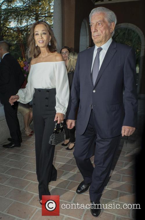 Mario Vargas Llosa and Isabel Preysler 8