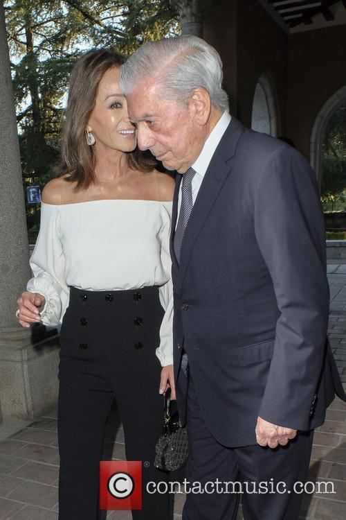 Mario Vargas Llosa and Isabel Preysler 9