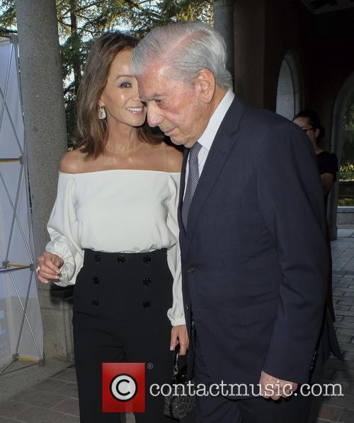 Mario Vargas Llosa and Isabel Preysler 10