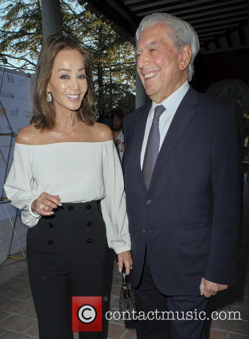 Mario Vargas Llosa and Isabel Preysler 11