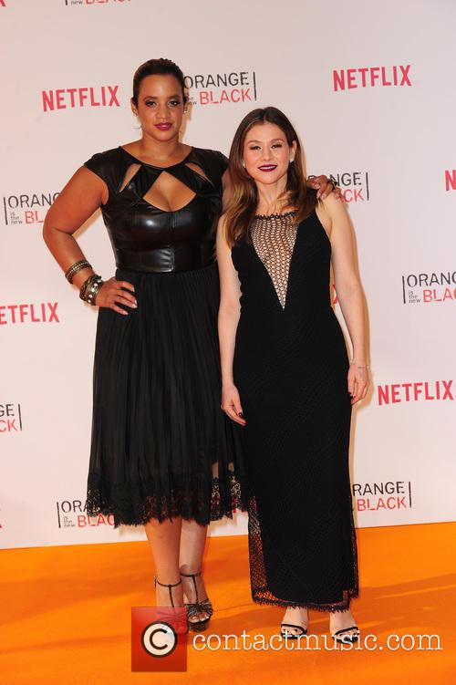 Dascha Polanco and Yael Stone 2