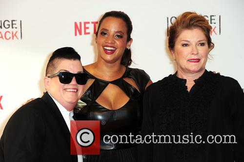 Lea Delaria, Dascha Polanco and Kate Mulgrew 9
