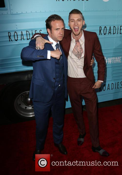 Rafe Spall and Machine Gun Kelly 1