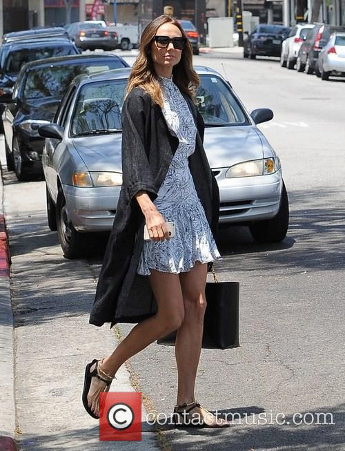 Stacy Keibler out in Los Angeles