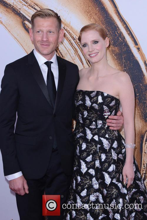 Paul Andrew and Jessica Chastain 2
