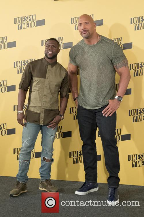 Kevin Hart and Dwayne Johnson 4