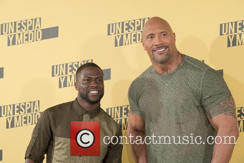 Kevin Hart and Dwayne Johnson 5