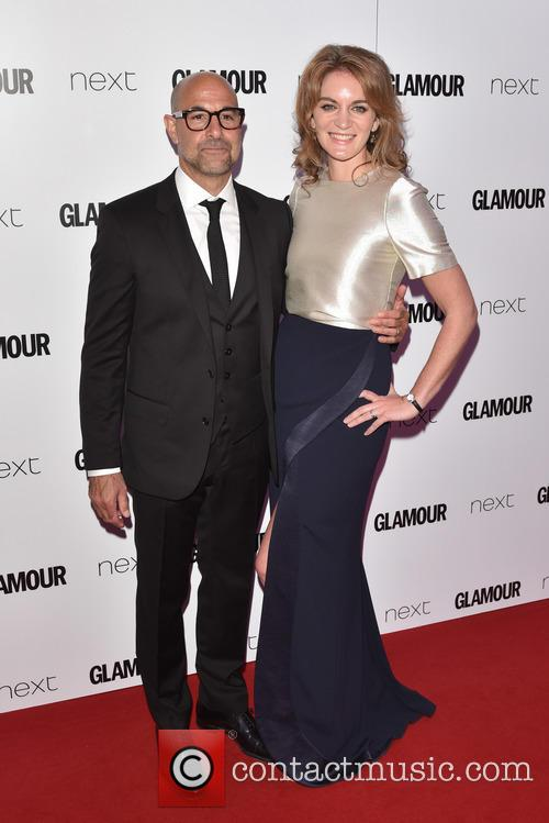 Stanley Tucci and Felicity Blunt 1