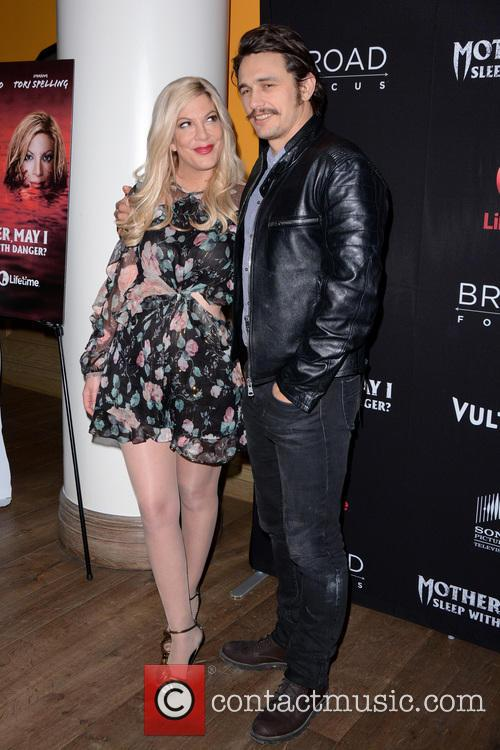Tori Spelling and James Franco 11