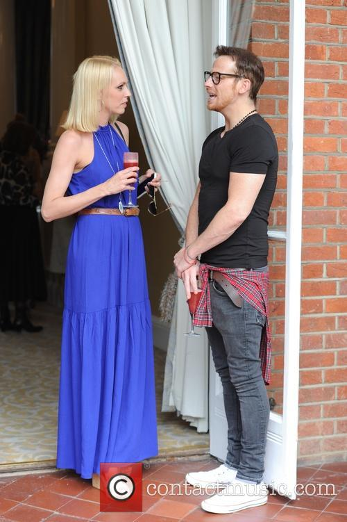 Joe Swash and Camilla Dallerup