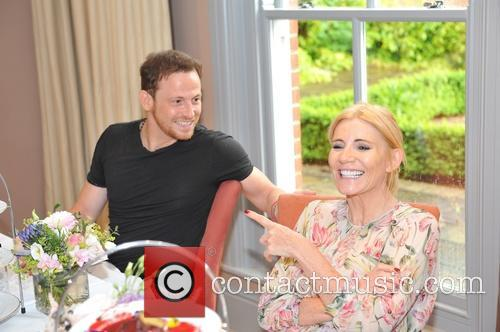 Joe Swash and Michelle Collins 7