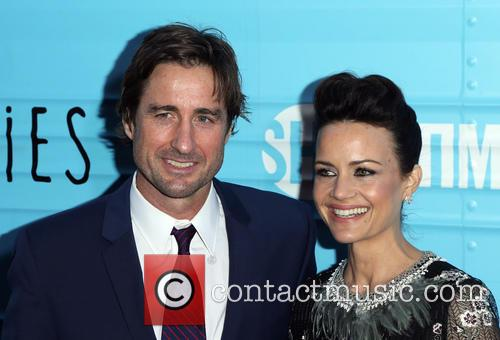 Luke Wilson and Carla Gugino 2