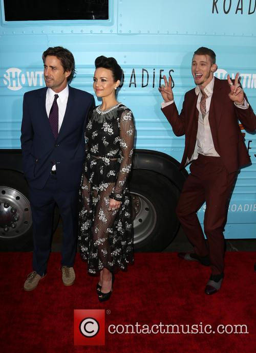 Luke Wilson, Carla Gugino and Machine Gun Kelly 3