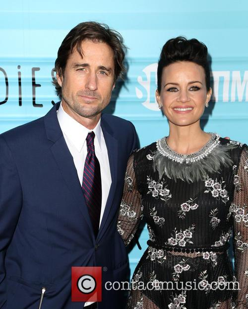 Luke Wilson and Carla Gugino 8