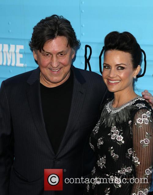 Cameron Crowe and Carla Gugino 1