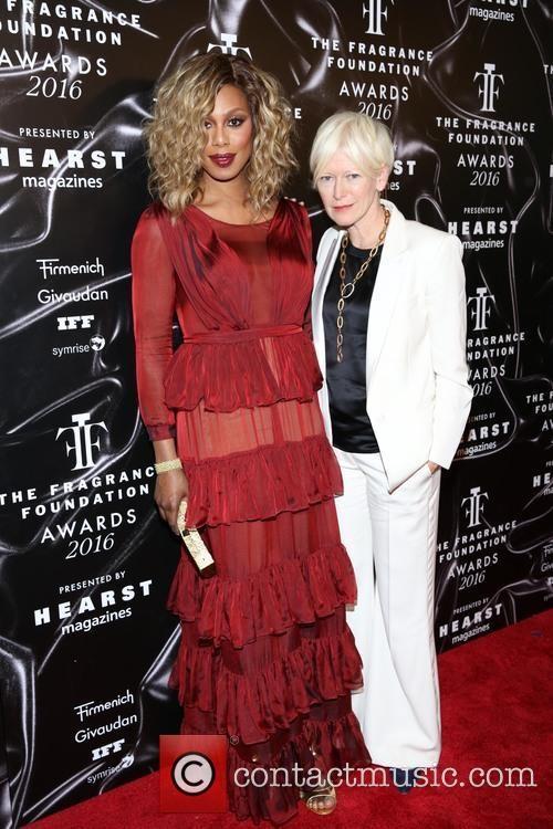Laverne Cox and Joanna Coles 8