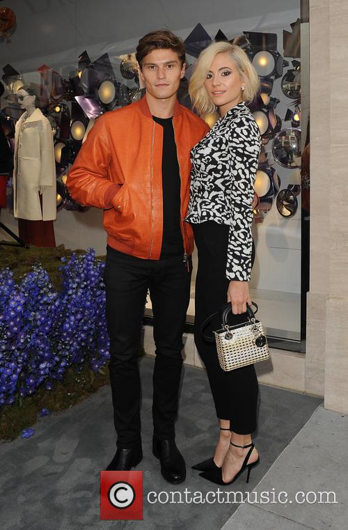 Pixie Lott and Oliver Cheshire 7
