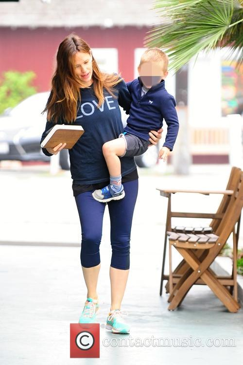 Jennifer Garner and Samuel Affleck 4
