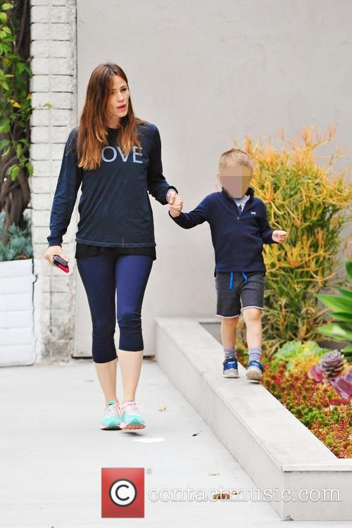 Jennifer Garner and Samuel Affleck 6