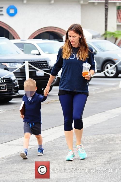 Jennifer Garner and Samuel Affleck 8