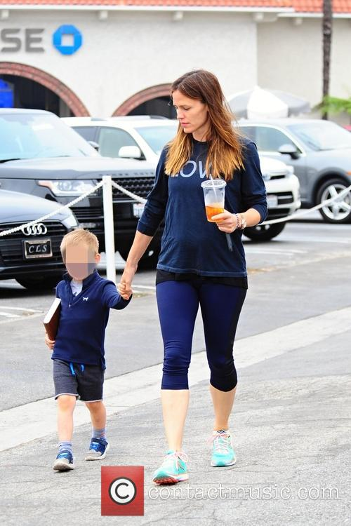 Jennifer Garner and Samuel Affleck 9
