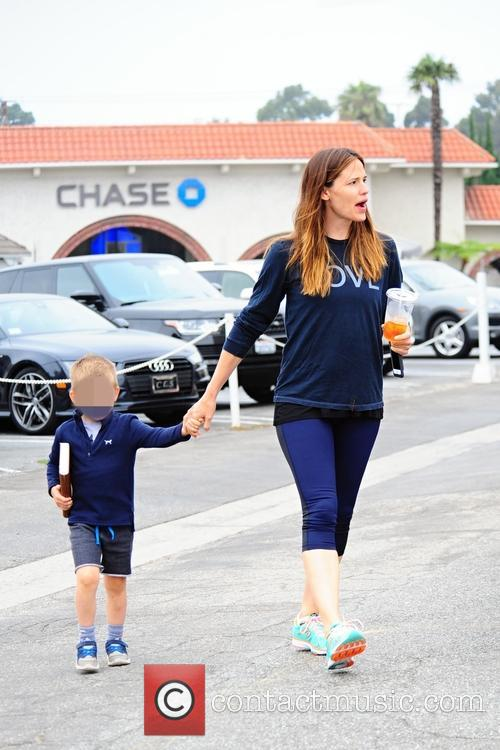 Jennifer Garner and Samuel Affleck 10
