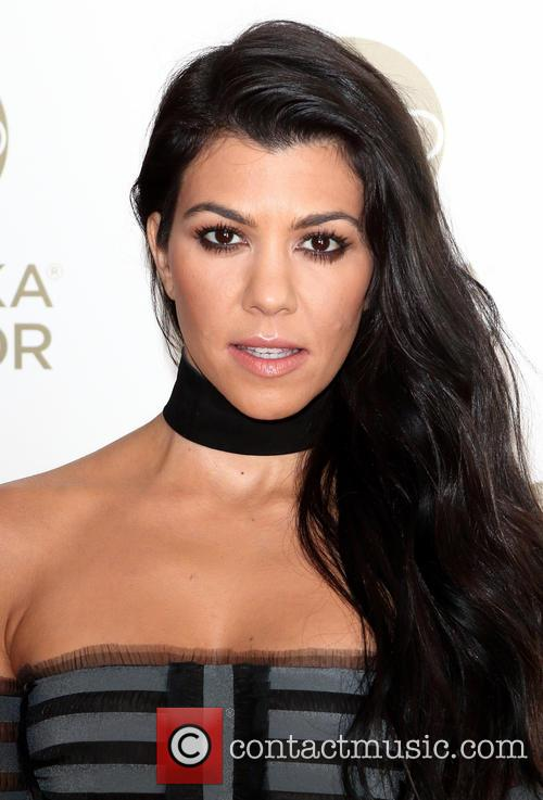 Kourtney Kardashian Responds With Blank Stare To Interview Question About Kim