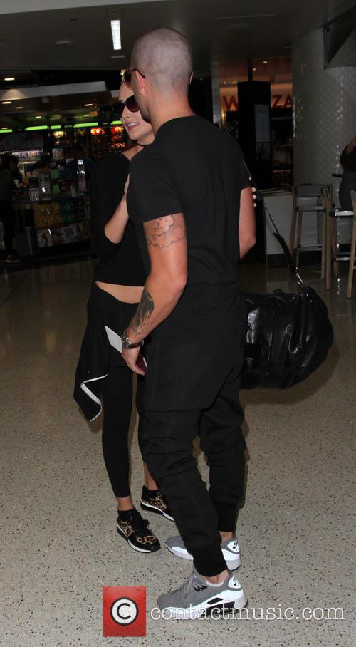 Max George and Carrie Baker 7