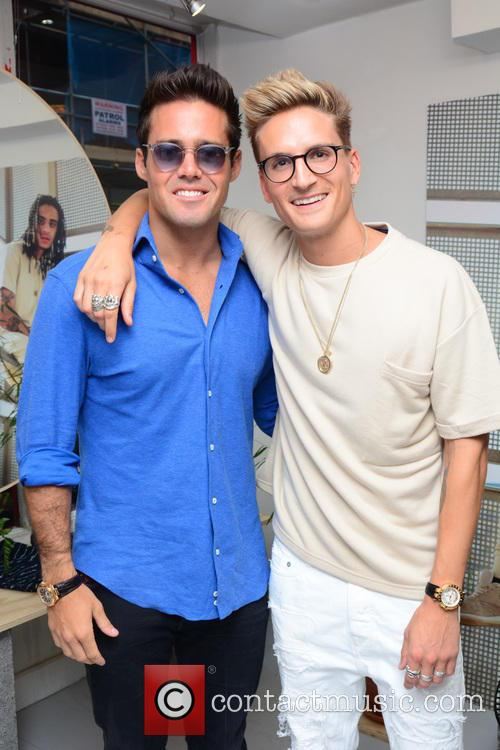Spencer Matthews and Oliver Proudlock