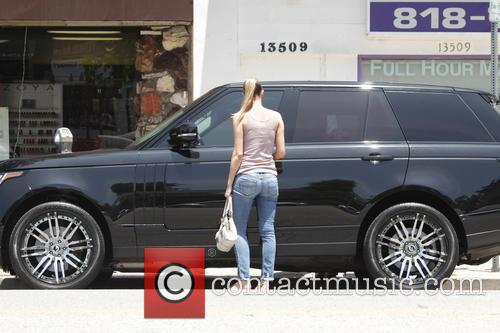 Paige Butcher out and about with her family...