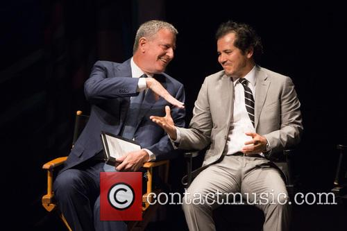 Bill De Blasio and John Leguizamo 1